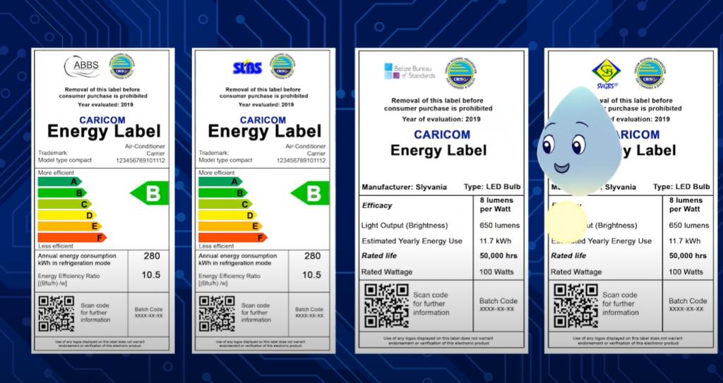CARICOM Energy Label PSA